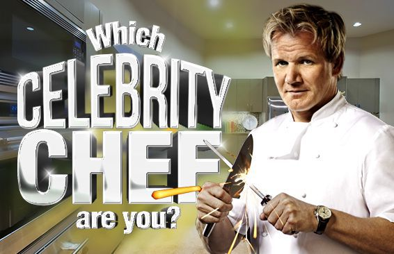 Which Celebrity Chef Are You?