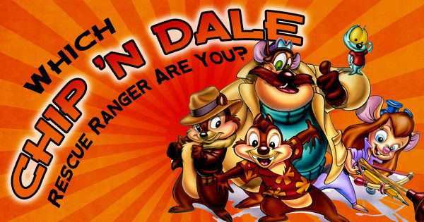 Which Chip 'n Dale Rescue Ranger Are You?