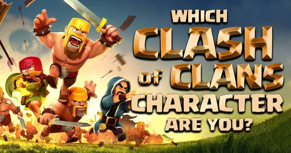 "Which ""Clash of Clans"" Character Are You?"