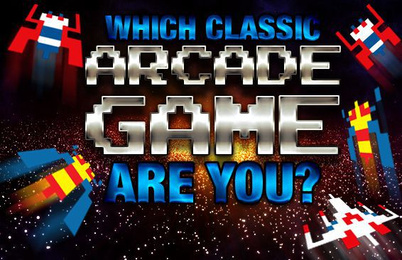 Which Classic Arcade Game Are You?