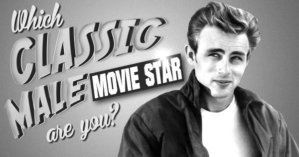 Classic Movies: Which of These Famous Male Actors Are You?