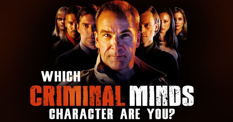 which criminal minds character are you