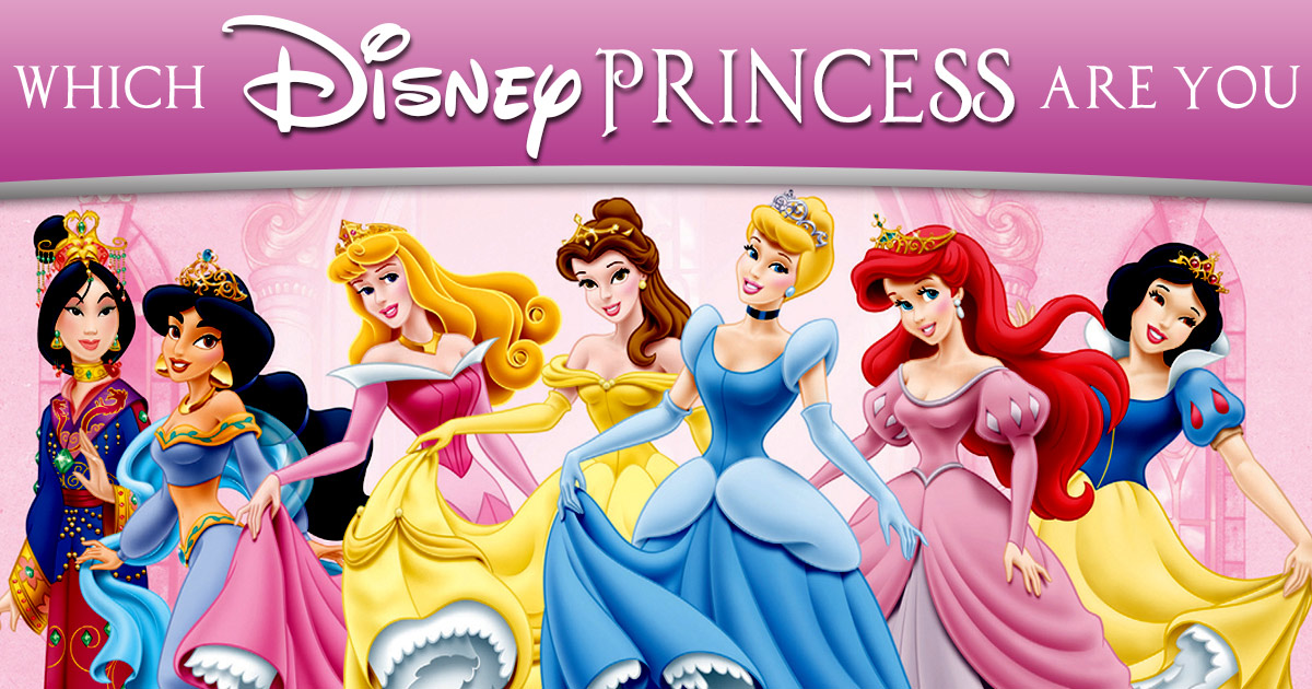 Which Disney Princess Are You? | BrainFall