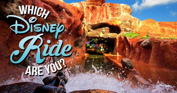 Which Disney Ride Are You?