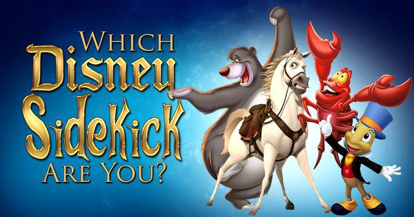 Which Disney Sidekick Are You?