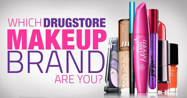 Which Drugstore Makeup Brand Are You?