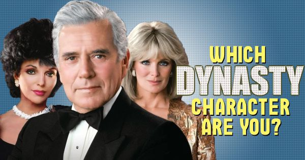 which dynasty character are you