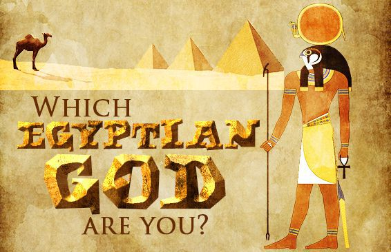 which egyptian god are you