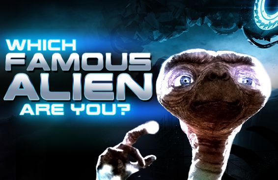 Which Famous Alien Are You?