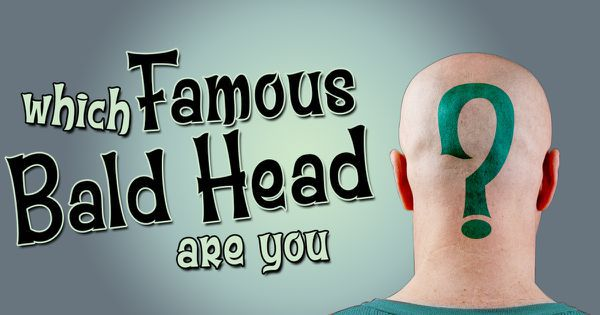 What Famous Bald Head Are You?