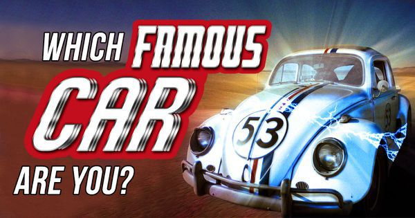 Which Famous Car Are You?