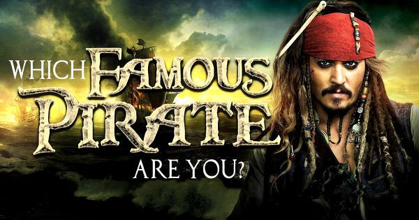 Pirate Quiz: Which of These Famous Pirates Are You?