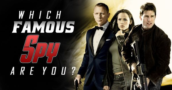 Which Famous Spy Are You?