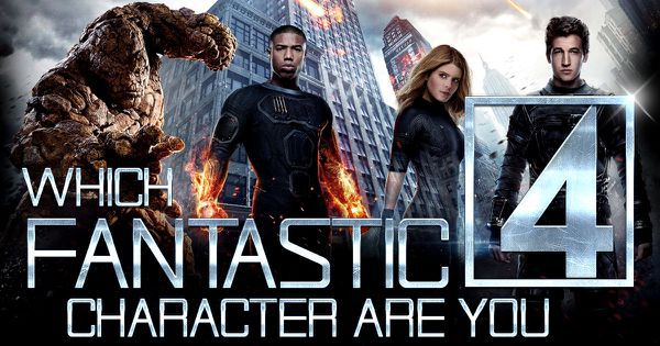 Which Fantastic 4 Character Are You?