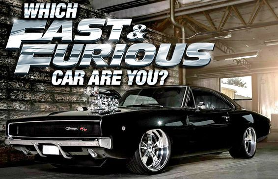 Which Fast and Furious Car Are You?