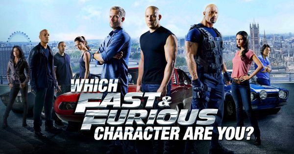 "Which ""Fast & Furious"" Character Are You?"