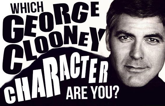 Which George Clooney Character Are You?