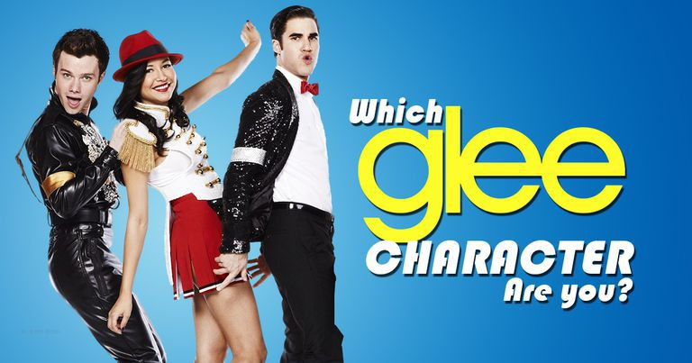 which glee character are you