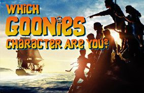 Which Goonies Character Are You?