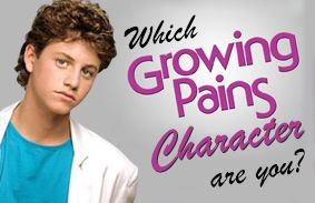 Which Growing Pains Character Are You?
