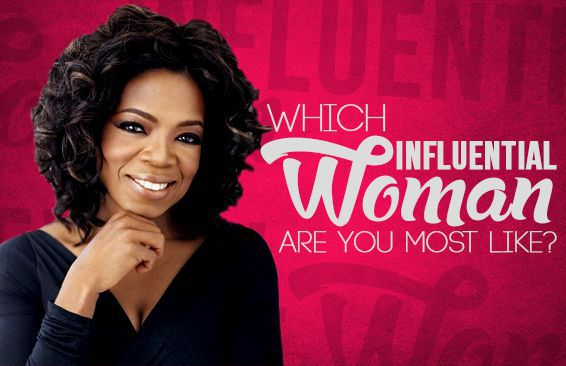 Which Influential Woman Are You Most Like?