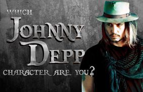 Which Johnny Depp Character Are You?