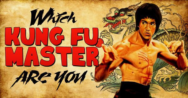 Which Kung Fu Master Are You?