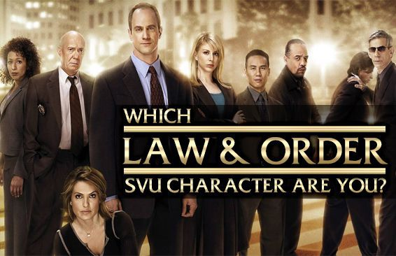 Which Law & Order: SVU Character Are You?