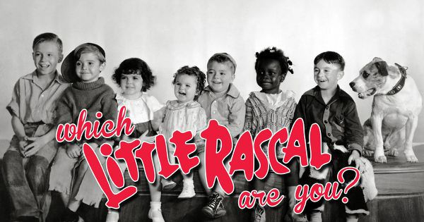Which Little Rascal Are You?
