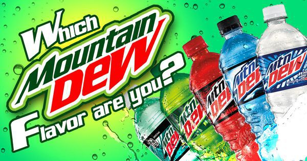 Which Mountain Dew Flavor Are You?