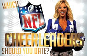 Which NFL Cheerleaders Should You Date?