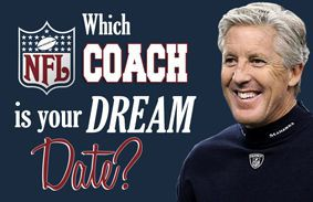 Which NFL Coach Is Your Dream Date?