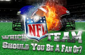 which nfl team should you be a fan of