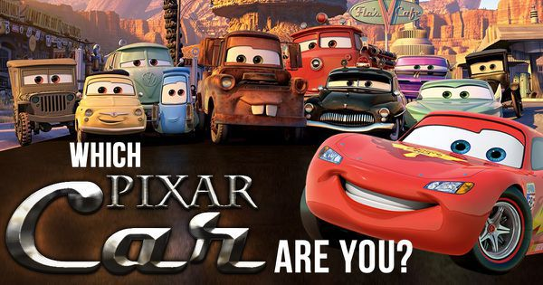 Which Pixar Car Are You?