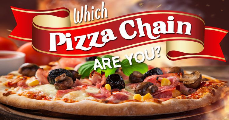Which Pizza Chain Are You?