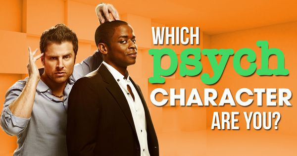 "Which ""Psych"" Character Are You?"