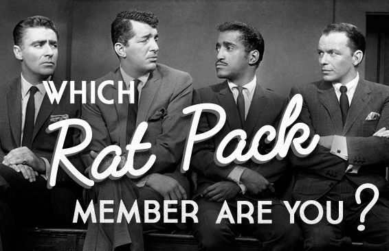 Which Rat Pack Member Are You?