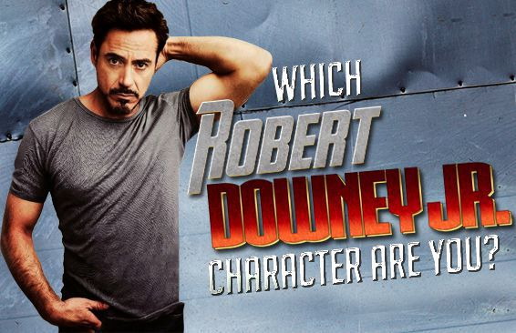 Which Robert Downey Jr. Character Are You?