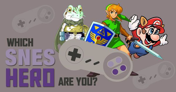 Which SNES Hero Are You?