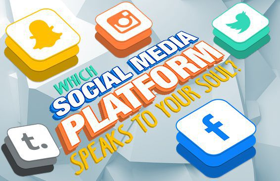Which Social Media Platform Speaks To Your Soul?