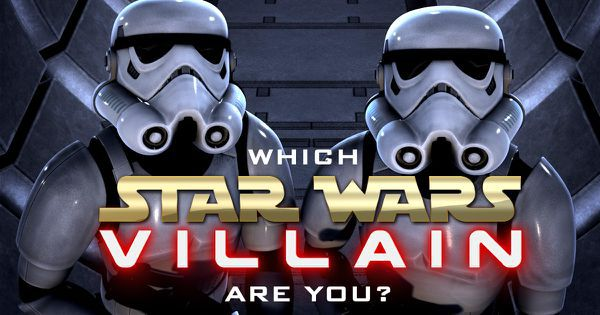 "Which ""Star Wars"" Villain Are You?"