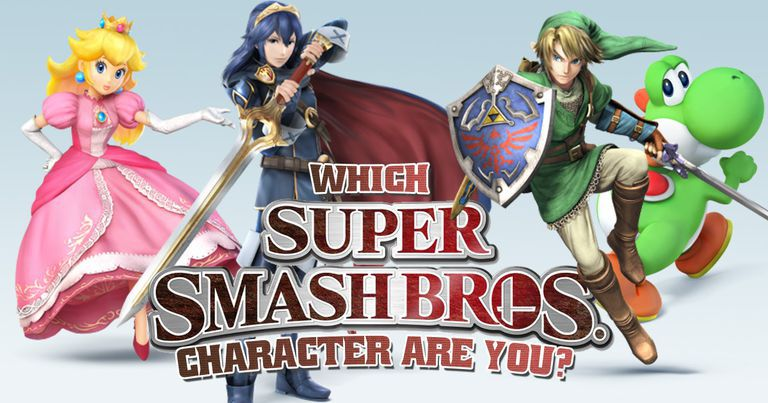 which super smash bros character are you