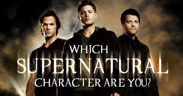 which supernatural character are you
