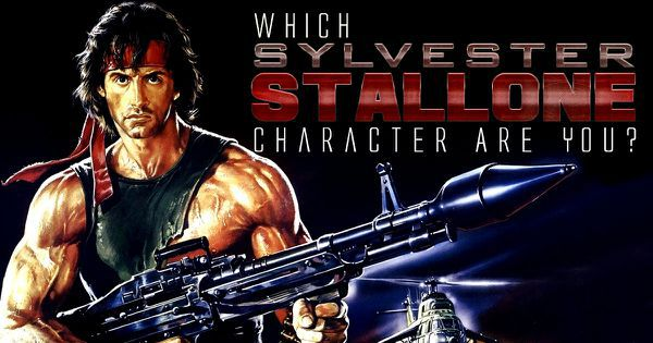Which Sylvester Stallone Character Are You?