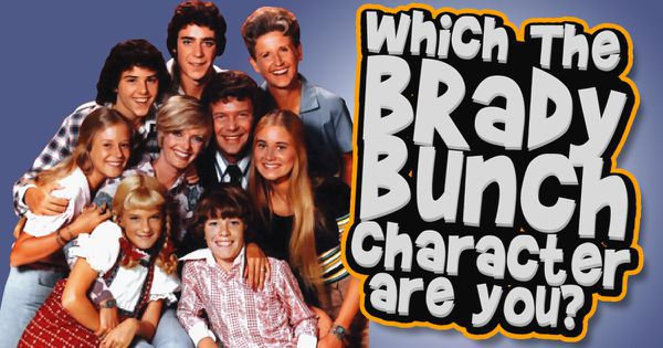 "Which ""The Brady Bunch"" Character Are You?"