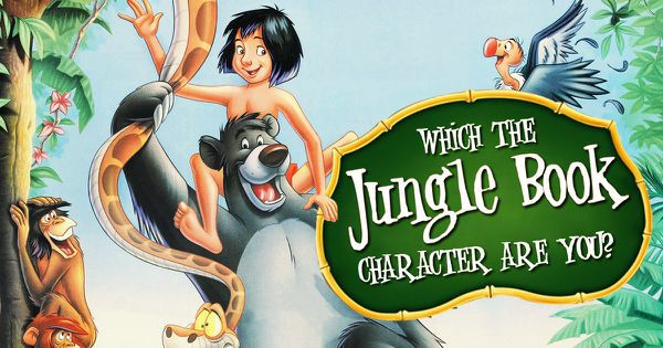 "Which ""The Jungle Book"" Character Are You?"