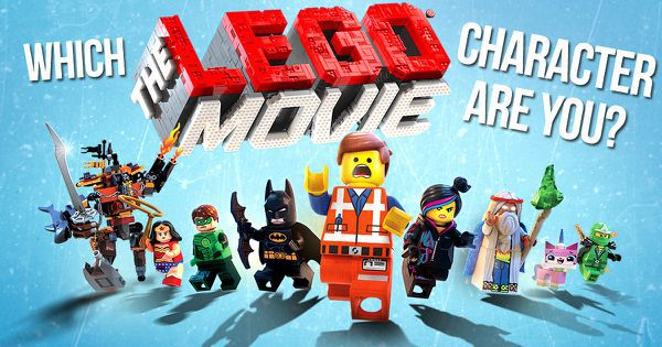 """Which """"The Lego Movie"""" Character Are You?"""