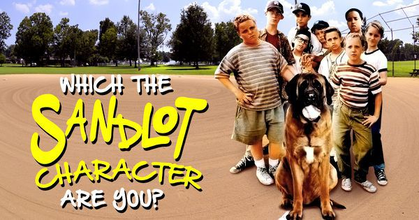 """Which """"The Sandlot"""" Character Are You?"""