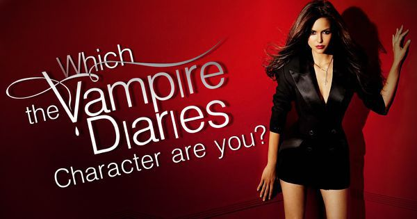 which the vampire diaries character are you