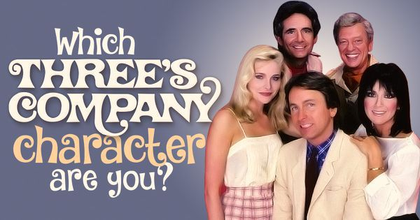 Which Threes Company Character Are You?